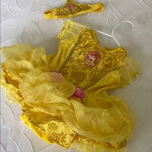 Disney Baby Belle costume 6-12 months